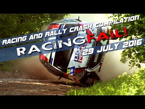 Racing and Rally Crash Compilation Week 29 July 2016