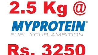Biggest Discount Ever on Whey Protein | MyProtein at cheapest Price ever