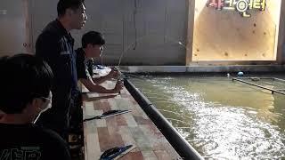 4Kg후반 몬스터 대물향어 연타