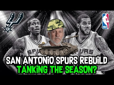 TANKING FOR A FUTURE SUPERSTAR! SAN ANTONIO SPURS REBUILD! NBA 2K18 MY LEAGUE