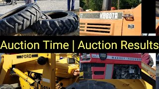Auction Time   Auction Results