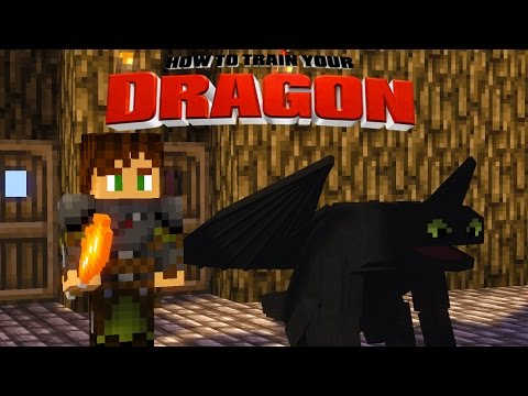 Minecraft - HOW TO TRAIN YOUR DRAGON 2 - [4] 'Wild Drag ...