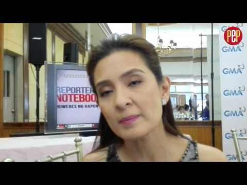 Jean Garcia does not want to comment on Pangako Sa 'Yo remake but wishes it the best