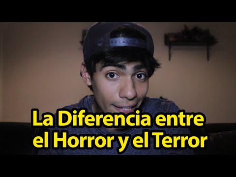 La Diferencia entre el Horror y el Terror