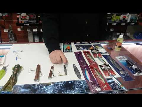 Part 7   Pre Tied Shrimp Fly Rig   Bottom Fishing Rigging 101 With Josh From Englund Marine