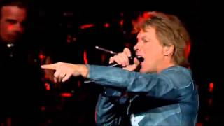 Bon Jovi - You Give Love A Bad Name(Live San Jose 2013)