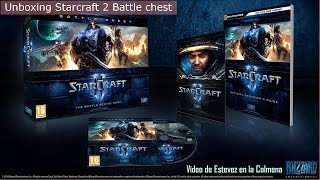 Unboxing Starcraft 2 Battle chest [Es]