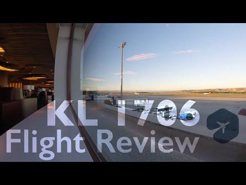 KLM Economy - Madrid to Amsterdam -  GlobalTravelingNetwork