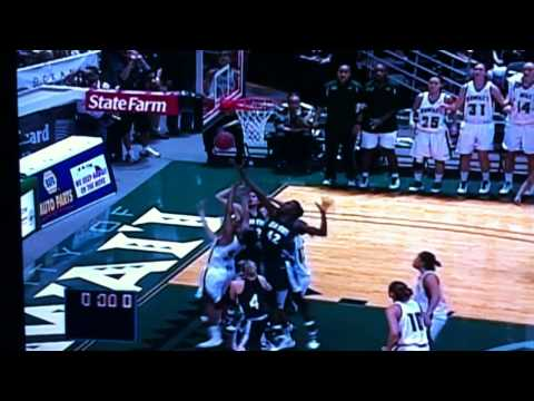 University of Hawaii Wahine Basketball Team at the end of OT