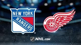 Repeat youtube video Lundqvist, Miller lead Rangers to 1-0 OT win