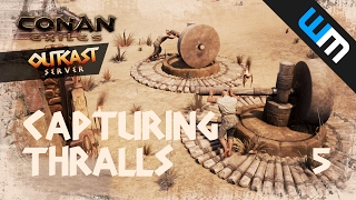 how to find played server on conan exiles