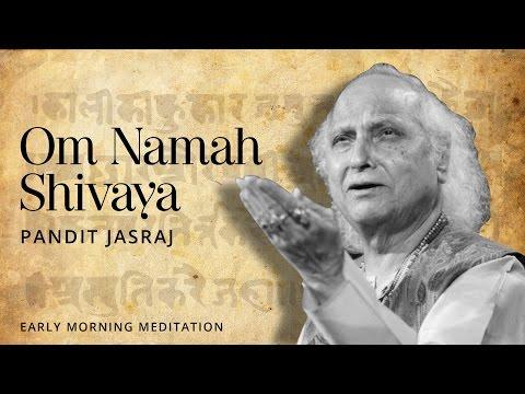 Lord Shiva Sloka - Om Namah Shivaya [Devotional Mantra] | Pandit Jasraj