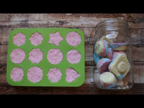 DIY BATH BOMBS | step by step, and easy enough for children