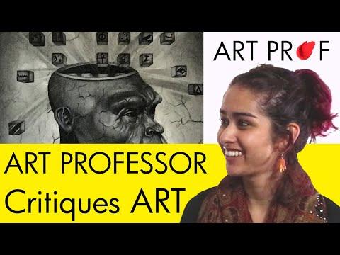 Art Critique: Graphite & Charcoal Drawing