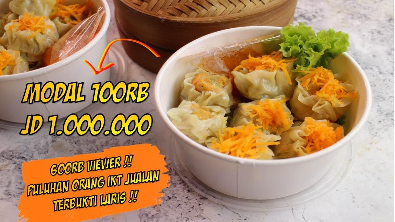 Ide Usaha Makanan Kekinian Modal 100rb Jadi Jutaan Rupiah Youtube