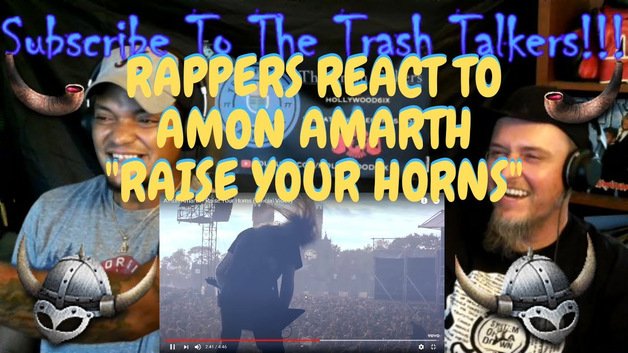 """Rappers React To Amon Amarth """"Raise Your Horns""""!!!"""