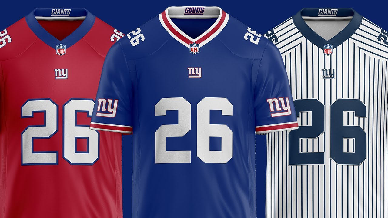 giants football jersey