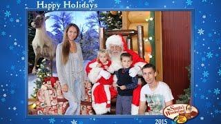 VLOG Santa's Wonderland  Santa Claus | Поездка к Санте Дед Мороз Святой Николай