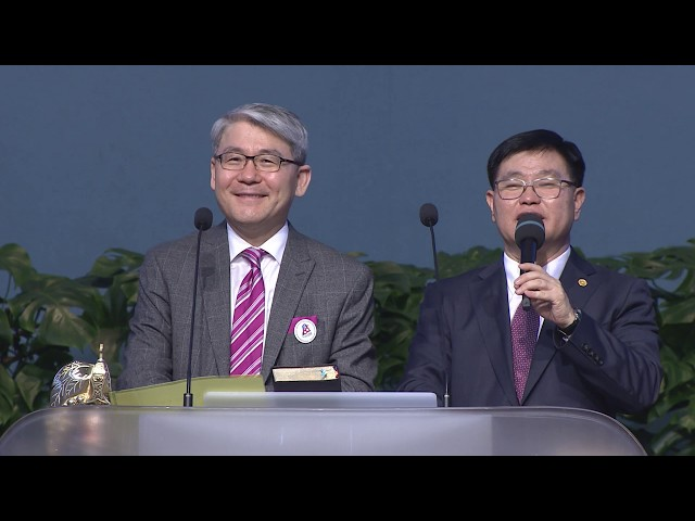 2018 OCCK 三大聖殿研習會 韓基采牧師