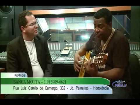 Luiz Carlos do Raça negra fala da vida e carreira para pietro jr vtv sbt