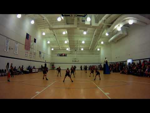 SECC girls jv volleyball playoff Northside Christian Academy vs Old Plank Christian Academy set 3