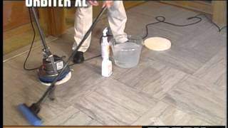 Oreck Commercial Orbiter Floor Machine Marble & Natural Stone Floor Cleaning