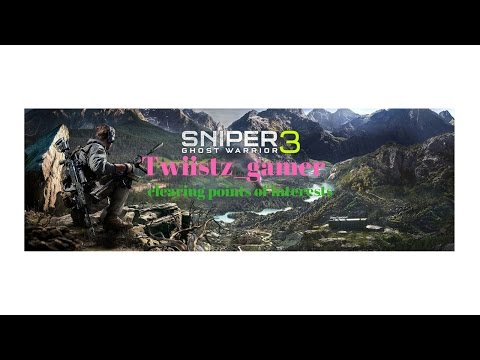 Sniper Ghost Warrior 3: clearing points of interests and more