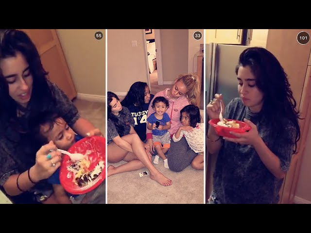 Dinah Jane | October 18th 2015 | FULL SNAPCHAT STORY (featuring Lauren Jauregui)