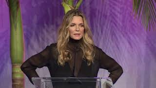 Michelle Pfeiffer recognized for her work with EWG at Variety's Power of Women