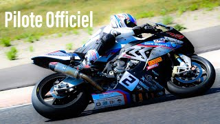 MA 1ÉRE COURSE MOTO COMME PILOTE OFFICIEL ► BMW S 1000 RR  ► ENGLISH SUBS
