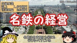 【ゆっくり解説】経営から見る私鉄part6 名古屋鉄道【迷列車】
