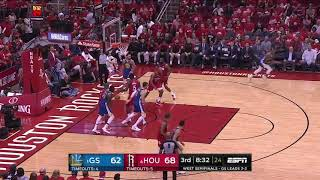 Stephen Curry All Game Actions 05/10/19 Golden State Warriors vs Houston Rockets Game 6 Highlights