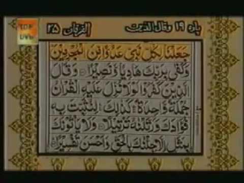 Surah Al Furqan With urdu Translation Full