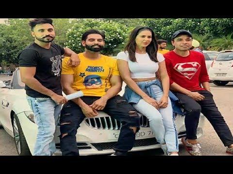 Parmish Verma Fun with Sonam Bajwa and Goldy Desi Crew