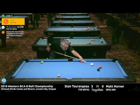 Stan Tourangeau vs Matt Horner - Elite Singles Finals