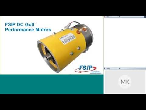 FSIP Performance Golf Cart Motors Webinar