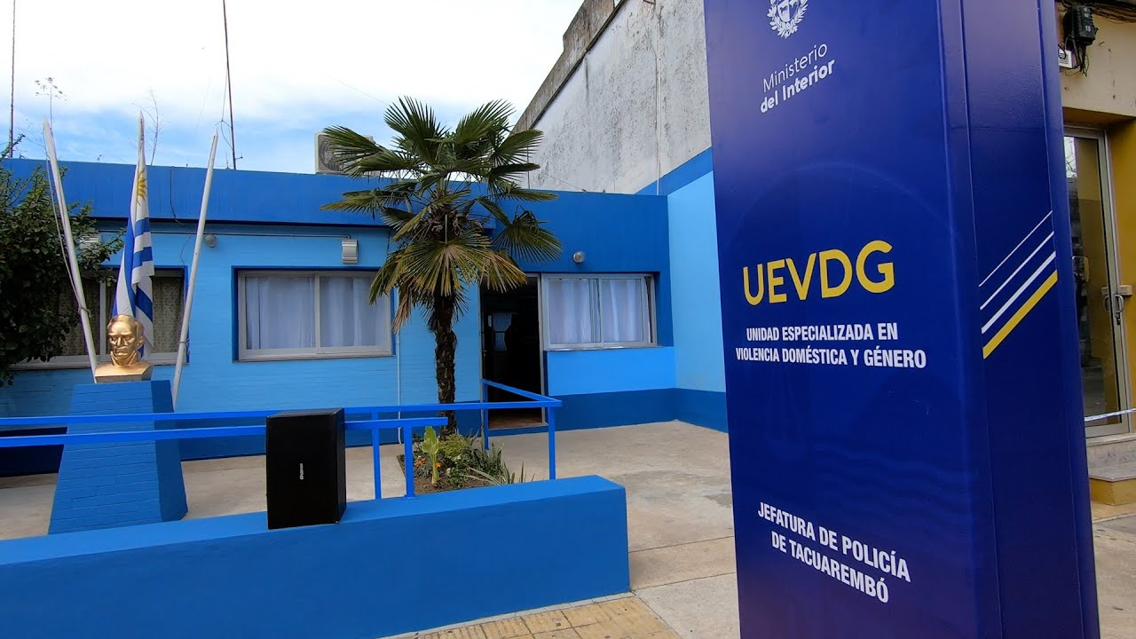 El Ministro del interior Inauguró la nueva sede UEVDG en Tacuarembó