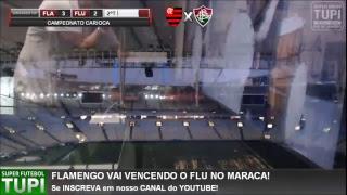 Flamengo 3 x 2 Fluminense - 6ª RODADA - Taça Rio - 24/03/2019