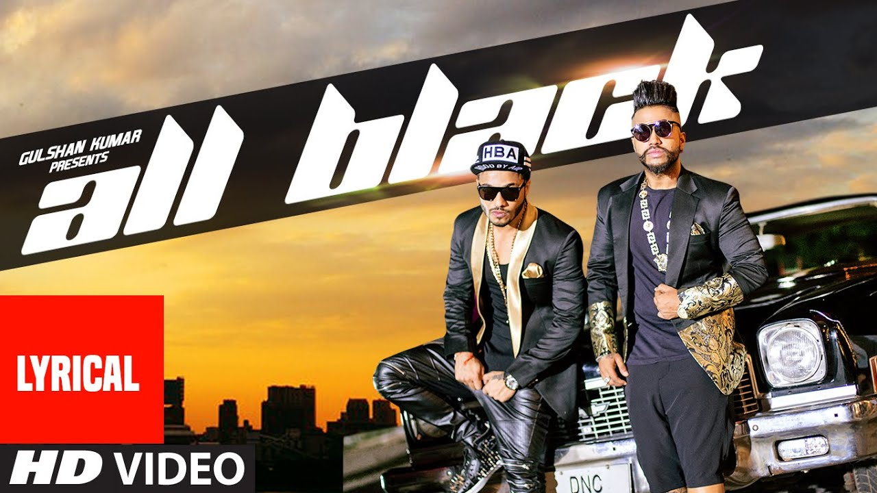 All black full song with lyrics | sukhe | raftaar | new video 2015.