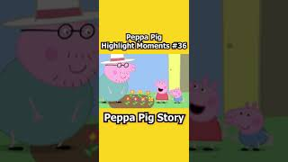 Peppa Pig and George's Giant Sunflower | Peppa Pig Highlight Moments #Shorts