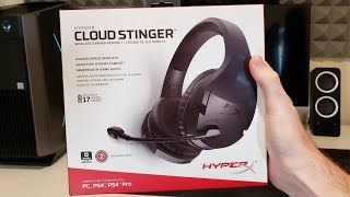 HyperX Cloud Stinger Wireless REVIEW | Best Wireless Gaming Headset for the Money!
