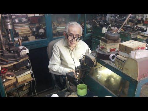 92 Year Old Cypriot Armenian Watch Repair Man Bedros Shahnazarian In Nicosia, Cyprus (2019)