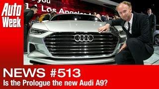 Journaal: is Prologue voorbode Audi A9?