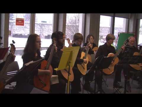 Kitchener/Waterloo Guitar Orchestra: Valse #1 (Amintha Plouf)