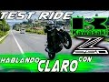 Hablando CLARO con la KAWASAKI Z250 - TEST RIDE - TOP SPEED | EL REBLUJO MOTOR