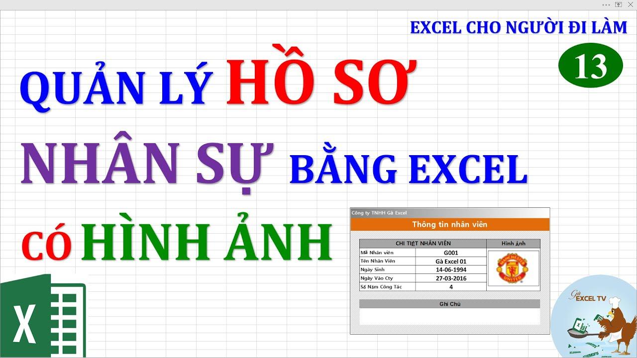 Excel cho người đi làm | #13 Quản lý nhân sự bằng Excel (có hình ảnh)