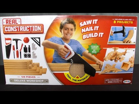 Real Construction Deluxe Workshop from Jakks Pacific