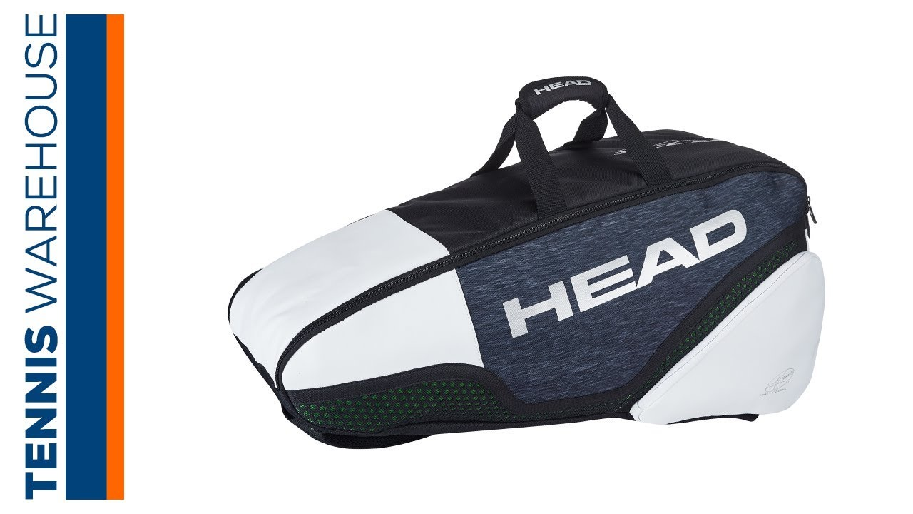 Head Djokovic Combi 6r Pack Tennis Bag Youtube