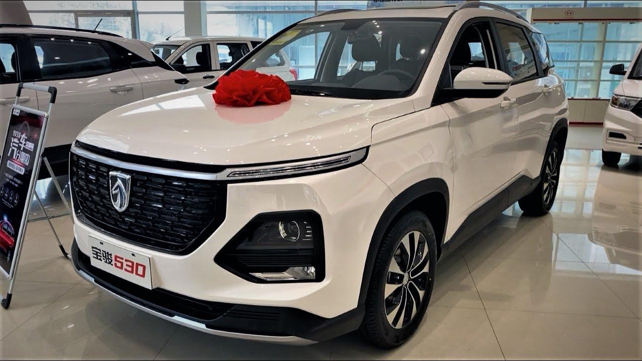 2020 Baojun 530 6seater Walkaround China Auto Show 2020款宝骏530