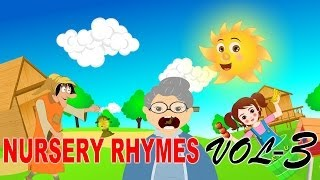 Edewcate Rhymes Collection | If You Are Happy And You Know It | After a Bath | This Old Man | Vol 3